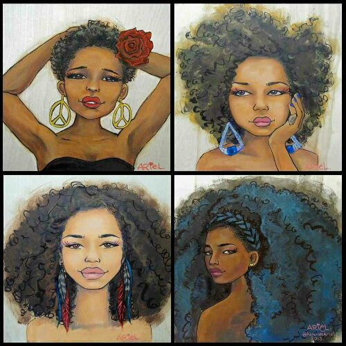dope natural hair art 171 entwinenaturally